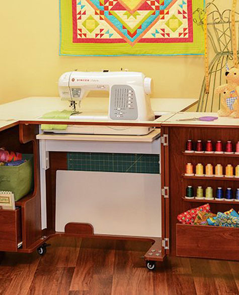 sewing machine cabinets